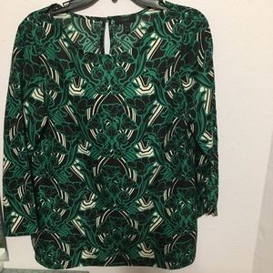 Beautiful Sz 8 J Crew popover back teardrop